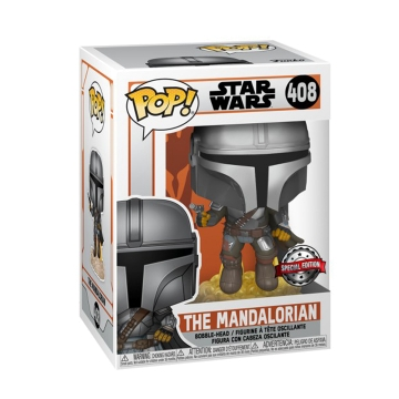 Фигурка Funko POP! Star Wars: The Mandalorian: Flying Mando Exclusive 51405