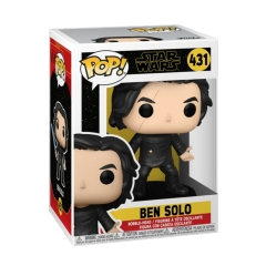 Фигурка Funko POP! Star Wars: Ben Solo with Blue Saber 51480