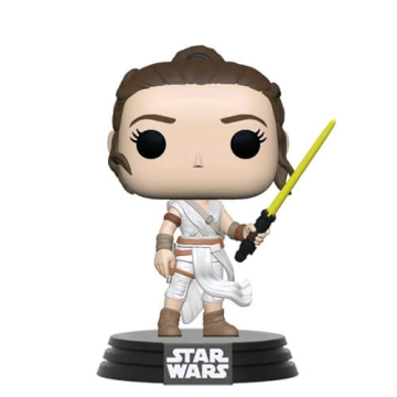 Фигурка Funko POP! Star Wars: Rey with Yellow Saber 51482