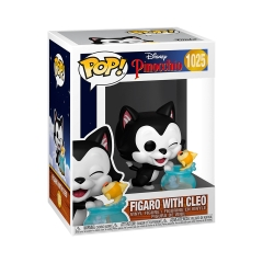 Фигурка Funko POP! Pinocchio: Figaro Kissing Cleo 51540