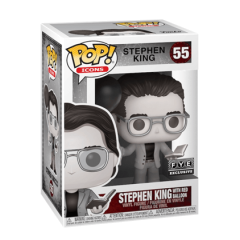 Фигурка Funko POP! Ad Icons: Stephen King with Red Balloon Exclusive 52236