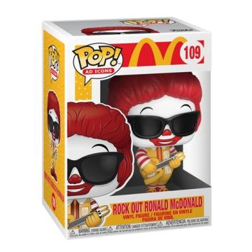Фигурка Funko POP! McDonalds: Rock Out Ronald McDonald 52991