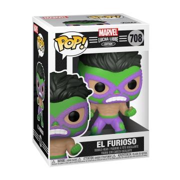 Фигурка Funko POP! Luchadores: El Furioso Hulk 53870
