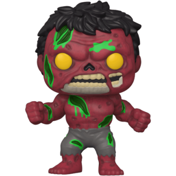 Фигурка Funko POP! Marvel Zombies: Red Hulk 54474