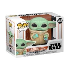 Фигурка Funko POP! Star Wars: The Mandalorian: The Child with Cookie 54531