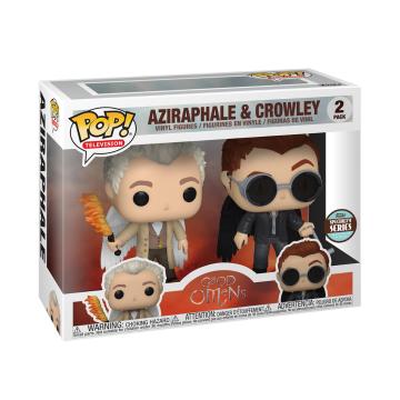 Фигурка Funko POP! 2-Pack Good Omens: Aziraphale and Crowley 54616