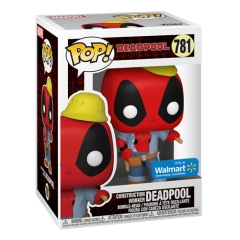 Фигурка Funko POP! Deadpool 30th Anniversary: Construction Worker Deadpool 54688
