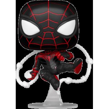 Фигурка Funko POP! Spider-Man: Miles Morales Game Miles Morales advanced tech suit 54693