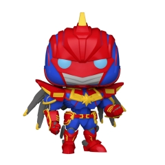 Фигурка Funko POP! Avengers Mech Strike: Captain Marvel