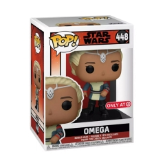 Фигурка Funko POP! Star Wars: Bad Batch: Omega Exclusive 55505