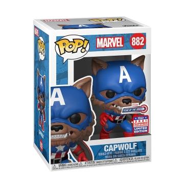 Фигурка Funko POP! Year of The Shield: Capwolf Exclusive 55506