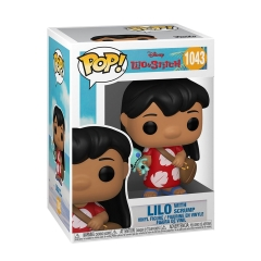 Фигурка Funko POP! Lilo and Stitch: Lilo with Scrump 55614