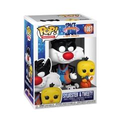 Фигурка Funko POP! Space Jam: A New Legacy: Sylvester and Tweety 56228