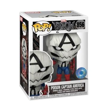 Фигурка Funko POP! Venom: Poison Captain America Exclusive 56276