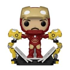 Фигурка Funko POP! Iron Man 2: Iron Man MK IV with Gantry Glow PX Previews Exclusive 56772