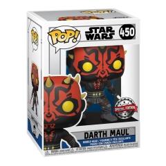 Фигурка Funko POP! Star Wars: The Clone Wars: Darth Maul Darksaber Exclusive 56790