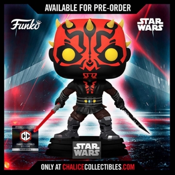 Фигурка Funko POP! Star Wars: The Clone Wars: Darth Maul Darksaber Chalice Collectibles Exclusive 56790