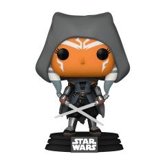 Фигурка Funko POP! Star Wars: The Mandalorian: Hooded Ahsoka with Duel Sabers Amazon Exclusive 58285
