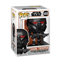 Фигурка Funko POP! Star Wars: The Mandalorian: Dark Trooper (Battle) 58289