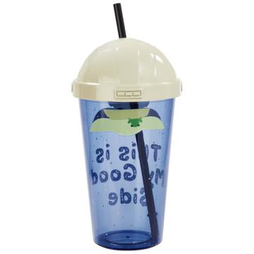 Кружка пластмассовая Funko Homeware Star Wars The Mandalorian: The Child Cup With Straw 06484