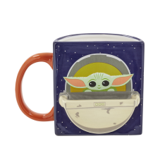 Кружка керамическая Funko Homeware Star Wars The Mandalorian: The Child Figural Mug Drink Time 06488