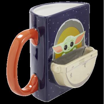 Кружка керамическая Funko Homeware Star Wars The Mandalorian: The Child Figural Mug Drink Time 06488