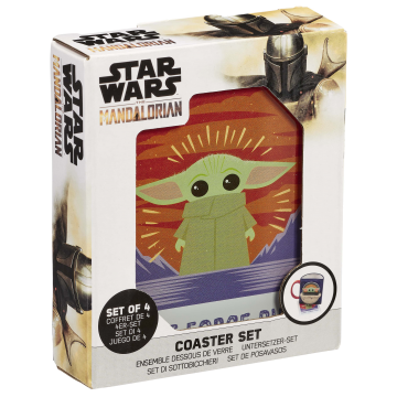 Подставки под напитки Funko Homeware Star Wars The Mandalorian: The Child Coaster Set Polaroids 06491