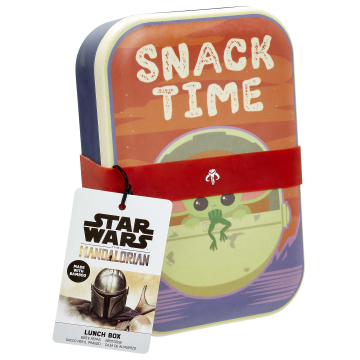 Контейнер для хранения продуктов Funko Homeware Star Wars The Mandalorian: The Child: Bamboo Lunch Box 06495