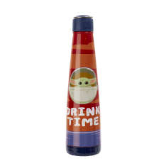 Бутылка металлическая Funko Star Wars The Mandalorian: The Child Metal Water Bottle Drink Time 06497