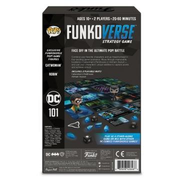 Настольная игра POP! Funkoverse: DC Comics 101 Expandalone 42646