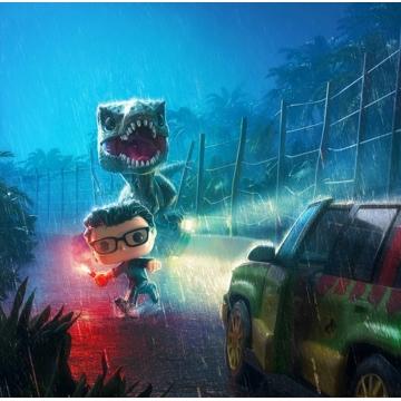 Настольная игра POP! Funkoverse: Jurassic Park 101 Expandalone 45889