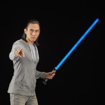 Световой меч Hasbro Star Wars Black Series Obi Wan Kenobi Force FX 0011