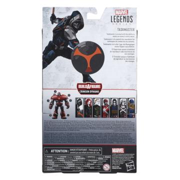 Фигурка Marvel Legends Black Widow Taskmaster 0028