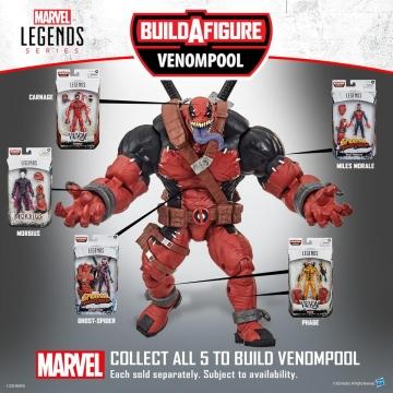 Фигурка Marvel Legends Venom Miles Morales E9300