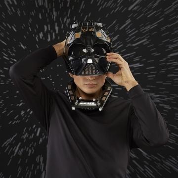 Электронный шлем Hasbro Star Wars The Black Series Darth Vader Premium Electronic Helmet 0328