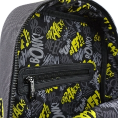 Рюкзак Loungefly DC Batman Canvas Embriodered Backpack DCCBK0023