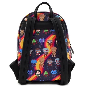 Рюкзак Loungefly Marvel Guardians Chibi AOP Mini Backpack MVBK0085