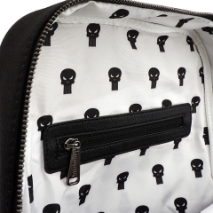 Рюкзак Loungefly Marvel Punisher Canvas Embriodered Backpack MVBK0087