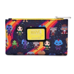 Кошелек Loungefly Marvel Guardians Chibi AOP Wallet MVWA0098