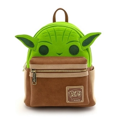 Рюкзак Loungefly Star Wars Yoda Cosplay Mini PU Backpack STBK0156