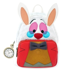 Рюкзак Loungefly Disney Alice in Wonderland White Rabbit Mini Backpack WDBK0478