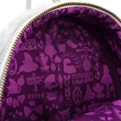 Рюкзак Loungefly Disney Alice in Wonderland White Rabbit Mini Backpack WDBK0478