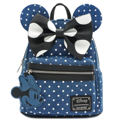 Рюкзак Loungefly Minnie Mouse Denim Backpack WDBK0848