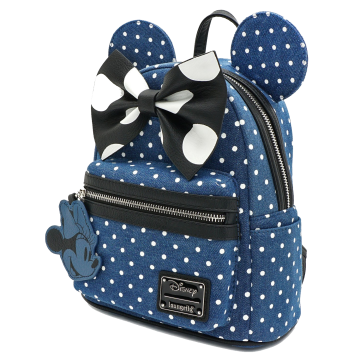Рюкзак Loungefly Minnie Mouse Denim Backpack WDBK0848