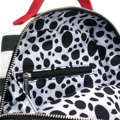 Рюкзак Loungefly Disney 101 Dalmations Striped Mini Backpack WDBK0938