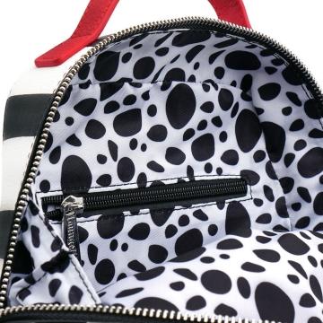 Рюкзак Loungefly Disney 101 Dalmations Striped Mini Backpack WDBK0938