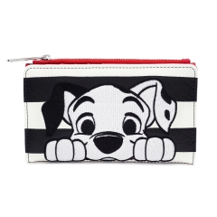 Кошелек Loungefly Disney 101 Dalmations Striped Wallet WDWA1147