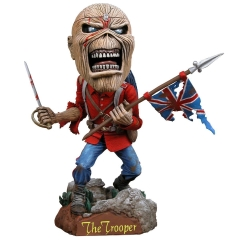 NECA Iron Maiden Eddie The Trooper Head Knocker NC33716