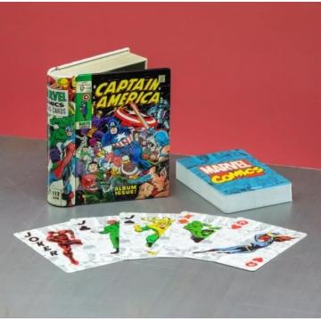 Карты игральные Paladone Marvel Comics Book 4835
