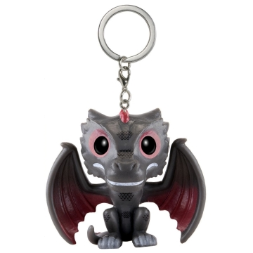 Брелок Funko Pocket POP! Keychain: Game of Thrones: Drogon 10111-PDQ
